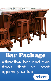 Hot Tub Bar Package