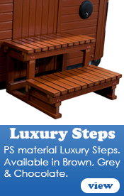 Hot Tub Luxury Steps